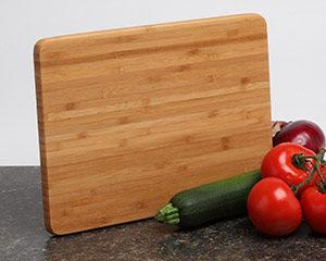 ersonalized Cutting Board - Bamboo 12x9