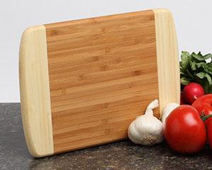 Personalized Cutting Board - Bamboo 2 Tone 11x8