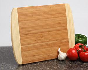 Personalized-Cutting-Boards Custom Engraved 2-tone Bamboo