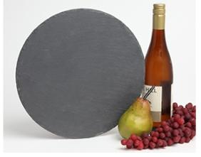 Personalized Round Slate Cheese Board