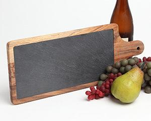 Personalized Slate Cheese Paddle