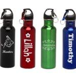 Stainless Steel Water Bottles VS Plastic – Personalized