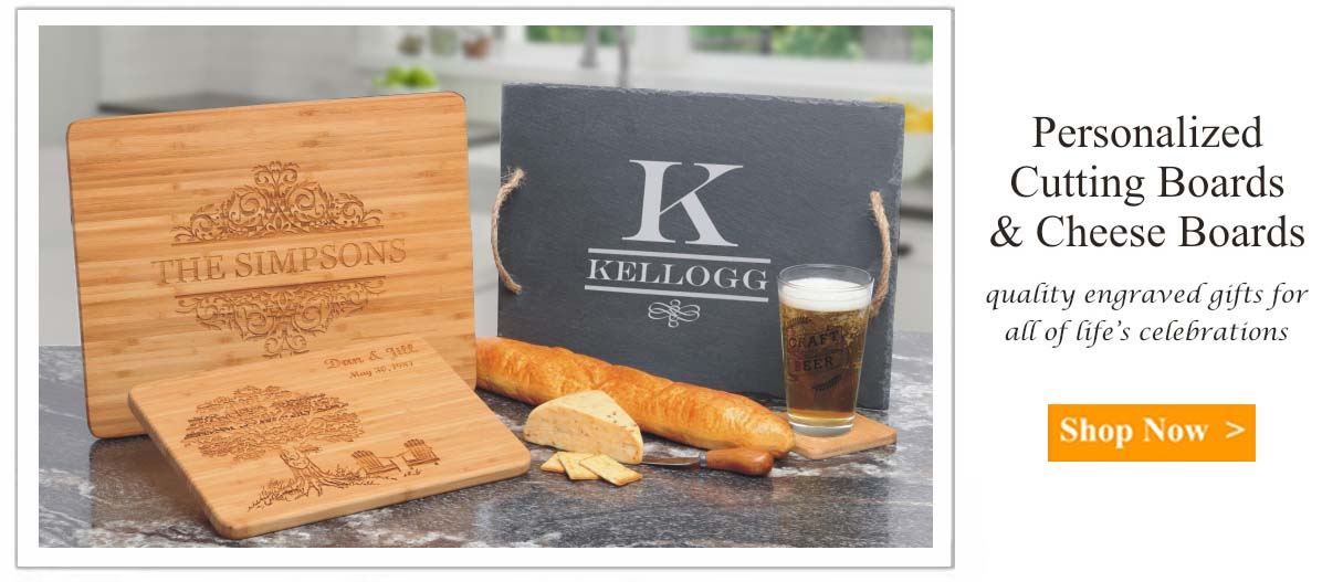 personalized cutting board engravable creations