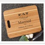 Wedding Gift Personalized Cutting Board