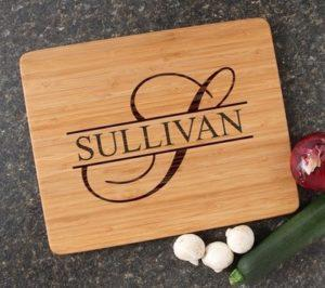 Personalized Cutting Board Laser Burned
