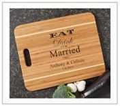 Custom Engraved Wedding Gift