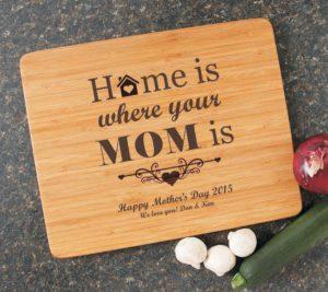 Mothers Day Personalized Cutting Board