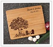 Personalized Cutting Board Anniversary Gift