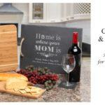 Personalized Cutting Board & Cheese Board Mother's Day