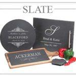 Personalized Slate Cheese Boards