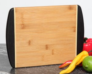 Personalized cutting board 12 x 9 two tone
