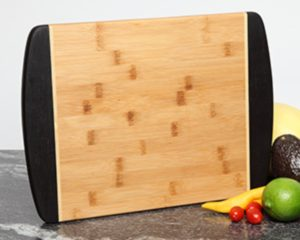 Personalized cutting board 15 x 11 two tone