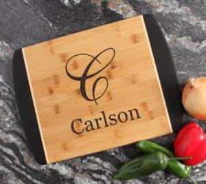 Personalized Cutting board 2 tone