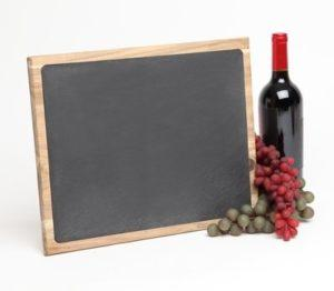 Personalized Acacia Slate Cheese Board 15 x 12